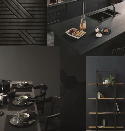 Tegel inspiratie All Black 1